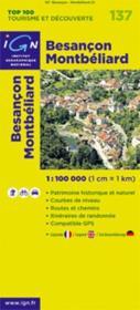 Besançon ; Montbéliard ; 137 - Couverture - Format classique