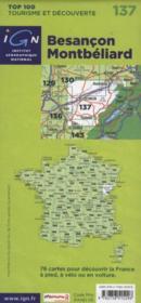 Besançon ; Montbéliard ; 137 - 4ème de couverture - Format classique