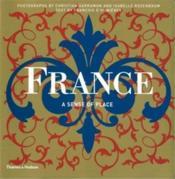 France a sense of place - Couverture - Format classique