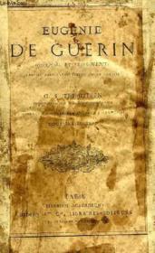 Eugenie De Guerin, Journal Et Fragments - Couverture - Format classique