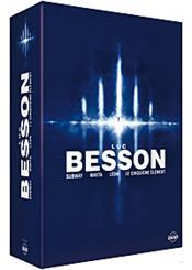 Coffret Luc Besson : Le Cinquième Élément , Léon , Nikita , Subway - Couverture - Format classique