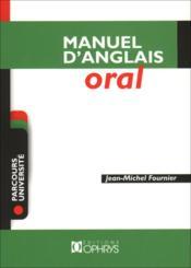 Manuel d'anglais oral - Couverture - Format classique