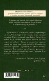 Bruges et les Flandres - 4ème de couverture - Format classique