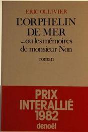 L'Orphelin De Mer - Intérieur - Format classique