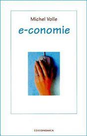 E-Conomie - Couverture - Format classique