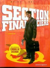 Section financiere t.1 ; corruption - Intérieur - Format classique