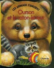 Carton Les Animaux S' Amusent: Ourson Et Raton - Couverture - Format classique