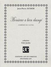 Monsieur a bien change - Couverture - Format classique