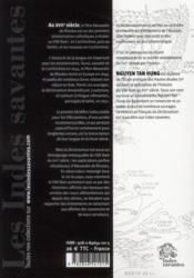 Le viet nam au xviie siecle societe et culture a travers le dictionarium d alexa - 4ème de couverture - Format classique
