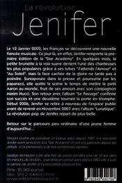 La révolution Jenifer - 4ème de couverture - Format classique