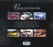 Des Voitures Nommees Desirs - 4ème de couverture - Format classique