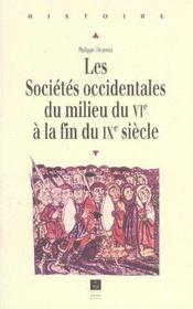 Les sociétés occidentales du milieu du VI à la fin du IX siècle - Intérieur - Format classique