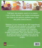 300 savons artisanaux - 4ème de couverture - Format classique
