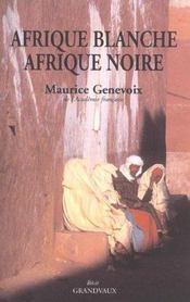 Afrique blanche, afrique noire - Intérieur - Format classique