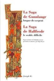 La saga de gunnlaugr - Couverture - Format classique