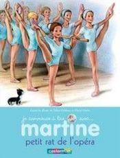 Je commence à lire avec Martine T.1 ; petit rat de l'opéra - Couverture - Format classique