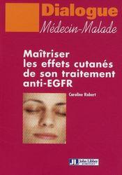 Maîtriser les effets cutanés de son traitement anti-EGFR - Couverture - Format classique