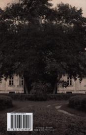 Courlande - 4ème de couverture - Format classique