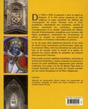 Les papes en Avignon ; la vie à la cour pontificale au fil des jours - 4ème de couverture - Format classique