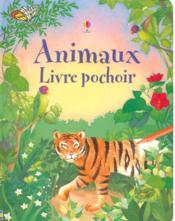 Animaux ; livre pochoir - Couverture - Format classique
