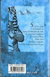 Les Larmes Du Nil - 4ème de couverture - Format classique
