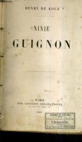Ninie Guignon. - Couverture - Format classique