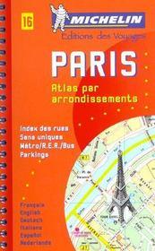 Paris ; atlas par arrondissement - Intérieur - Format classique