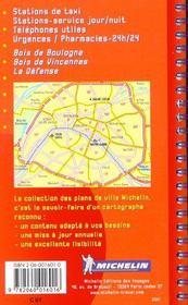 Paris ; atlas par arrondissement - 4ème de couverture - Format classique