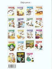 Calvin et Hobbes T.2 ; en avant, tête de thon ! - 4ème de couverture - Format classique