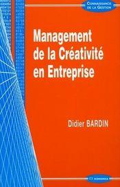 Management de la creativite en entreprise - Intérieur - Format classique