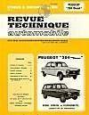 Rta 298.3 Peugeot 204 Diesel (1968/1976) - Couverture - Format classique