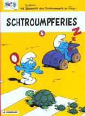 Schtroumpferies t.5 - Couverture - Format classique
