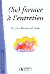 Se Former A L'Entretien - Intérieur - Format classique