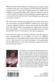 Louis le caméléon - 4ème de couverture - Format classique