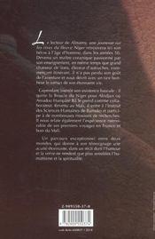 Almamy2:l'age d'homme d'un lettre malien - 4ème de couverture - Format classique