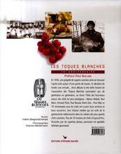 Les toques blanches lyonnaises, 70ème anniversaire - 4ème de couverture - Format classique