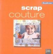 Scrap Couture - Couverture - Format classique