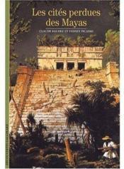 Les cites perdues des mayas - Couverture - Format classique