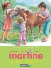 Je commence à lire avec Martine T.2 ; un trésor de poney - Couverture - Format classique