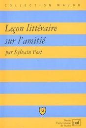Leçon littéraire sur l'amitié - Intérieur - Format classique