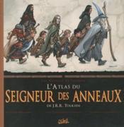 L'atlas du seigneur des anneaux de J.R.R. Tolkien ; les voyages de Frodon - Couverture - Format classique