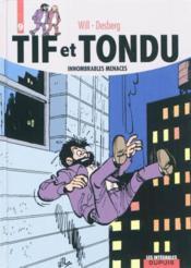 Tif et Tondu ; INTEGRALE VOL.9 ; innombrables menaces - Couverture - Format classique