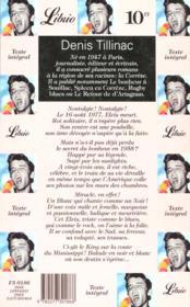 Elvis balade sudiste tour - 4ème de couverture - Format classique