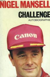 Challenge. Autobiographie - Couverture - Format classique