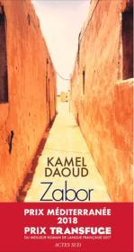 Zabor ou les psaumes - Couverture - Format classique