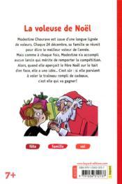 La voleuse de Noël - 4ème de couverture - Format classique
