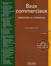 Baux commerciaux ; industriels et artisanaux (14e édition) - Intérieur - Format classique