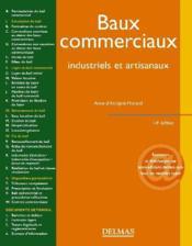 Baux commerciaux ; industriels et artisanaux (14e édition) - Couverture - Format classique