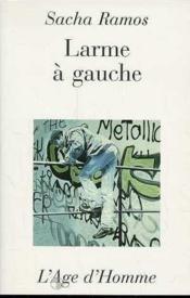 Larme A Gauche - Couverture - Format classique