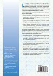Mfi'05 ; modeles formels de l'interaction ; actes des troisiemes journees francophones - 4ème de couverture - Format classique